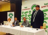 Игорь Балута и Александр Горяинов Волонтерская Партия определилась с мэром и лидерами списков в городской и облсоветы
