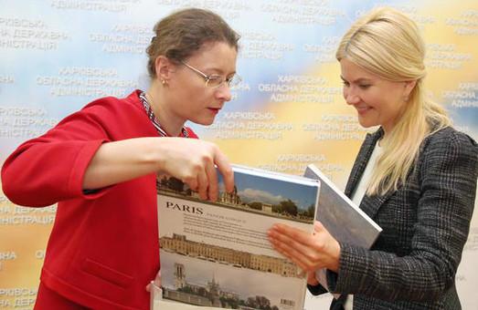 С Юлией Светличной встретилсь посол Франции Изабель Дюмон