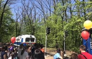 """Детская железная дорога """"Малая Южная"""" снова возит пассажиров"""