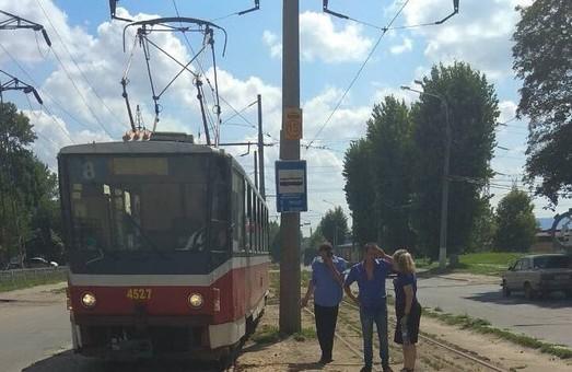 Очередной трамвай сошел с рельс в Харькове: Укртрансбезопасность продолжает мониторинг