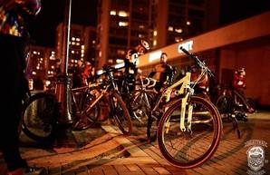 Харьковчане будут кататься ночью на велосипедах