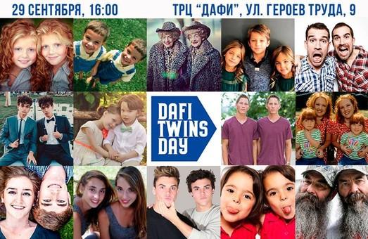 В последнюю субботу сентября более 100 пар близнецов соберутся в Харькове