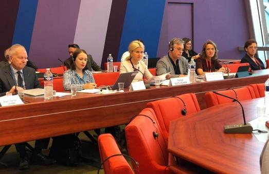 Светличная участвует в заседании Бюро Конгресса региональных властей Совета Европы