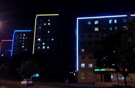 В Харькове установили подсветку на фасады 15 зданий
