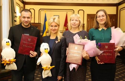 Светличная передала награды организаторам украинской (не)конференции школьных педагогов EdCamp
