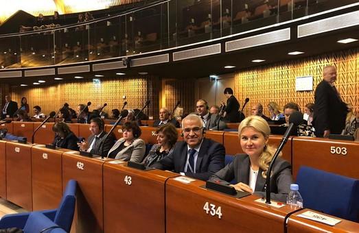 Юлию Светличную в Страсбурге вновь выбрали вице-президентом Палаты регионов