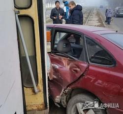 В Харькове - два ДТП с трамваями (ФОТО)