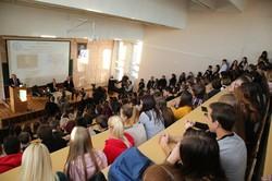 Светличная студентам: Настойчивость и трудолюбие – составляющие успеха