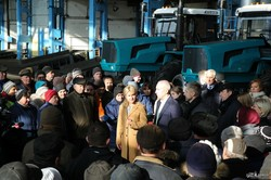 Светличная и Ярославский посетили ХТЗ