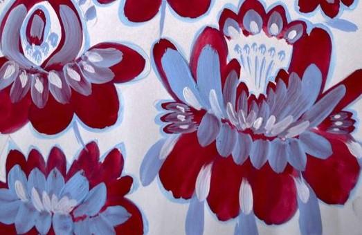 Областной центр культуры и искусства приглашает харьковчан на выставку «Квітів барвограй»