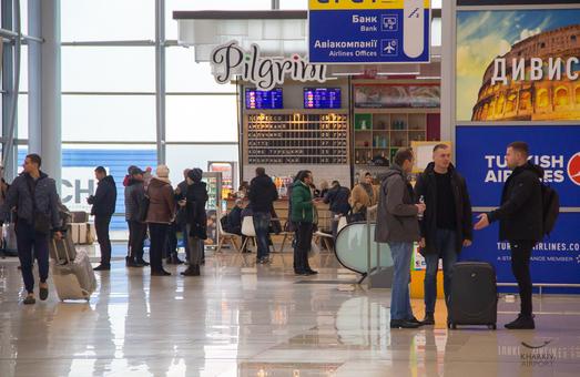 Пассажиропоток Харьковского аэропорта Ярославского вырос на 19%