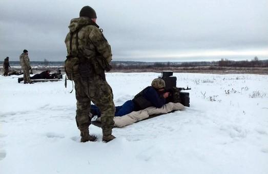 На Харьковщине стартовали сборы с бойцами соединения теробороны (ФОТО)