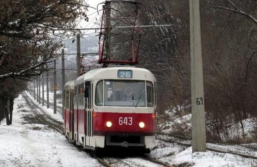 С понедельник будет возобновлено движение спецподачи трамвая №26