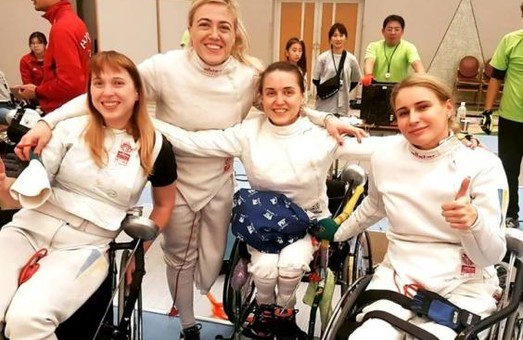 Харьковчанка Евгения Бреус завоевала комплект медалей на этапе Кубка мира