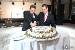 Каллен. 2011 год, открытие отеля Kharkiv Palace
