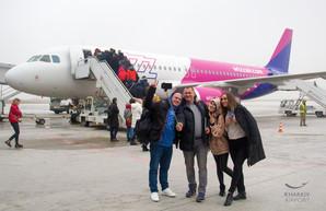 Харьковский аэропорт Ярославского в декабре увеличил международный пассажирский трафик на 37%