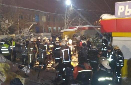 Аварийные службы закончили ликвидацию последствий обвала торгового центра в Харькове
