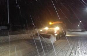 Как дороги Харьковской области расчищали от снега (ФОТО, ВИДЕО)