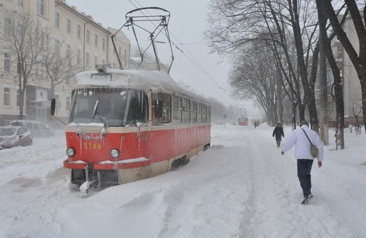 Завтра Харьков засыплет снегом
