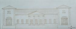 Проект здания присутственных мест а Харькове