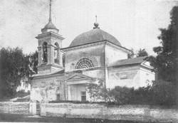 Успенская церковь в с. Малыжино