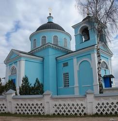 Преображенская церковь в пос. Новая Водолага