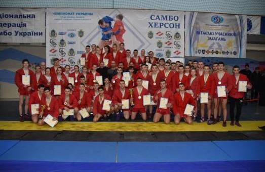 Самбисты Харьковщины завоевали 38 наград на чемпионате Украины