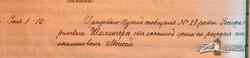 Метрическая запись о рождении Моисея Иосифовича Шиллингера, 1866 г. (публикуется впервые)