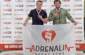 Харьковские сумоисты на турнире в США добыли «серебро» и «бронзу»
