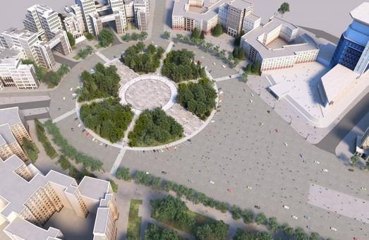 Сквер на площади Свободы откроют ко Дню города