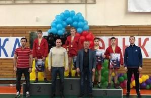 Юные харьковские самбисты успешно выступили на турнире памяти Тешера
