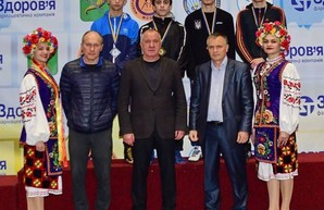 Борцы Харьковщины победили на домашнем чемпионате Украины
