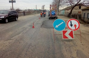 На Харьковщине приступают к текущему и капитальному ремонту автодорог