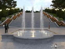 Появились фото обновленного Каскада в саду Шевченко