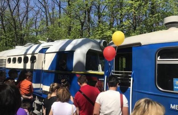 Движение поездов на Харьковской детской железной дороге Малой Южной откроется 1 мая
