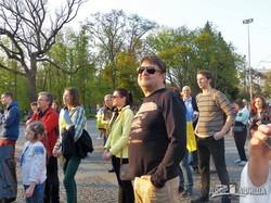 Харьковчане вошли на митинг в поддержку Закона о языке (ФОТО)