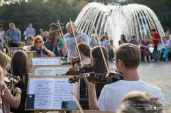 Репетиция оркестра  под открытым небом и кинопоказ фильма «Красная Скрипка» пройдут в Харькове
