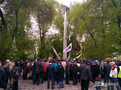 Тюльпаны и зеленка: Как прошла маевка в центре Харькова (ФОТО)