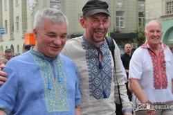 Парад вышиванок в Харькове (ФОТО)