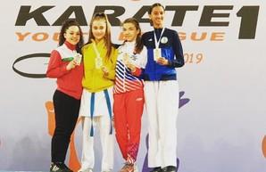 Харьковчанка стала чемпионкой турнира мировой серии каратэ