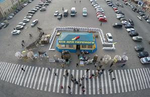 Палатка «Все для победы» останется на площади Свободы – решение суда