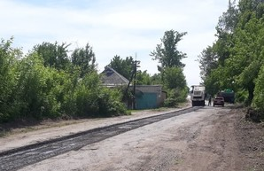 Начат текущий ремонт на автомобильной дороге Дергачи-Казачья Лопань