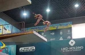 Сборная Харьковской области по прыжкам в воду завоевала 6 наград на чемпионате Украины