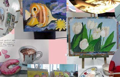 «Бузок» приглашает харьковчан на выставку детских работ