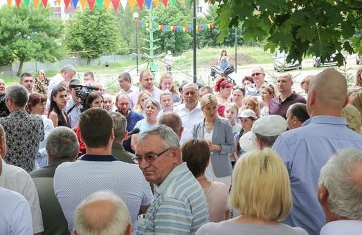Светличная встретилась с громадой Солоницевки (ФОТО)