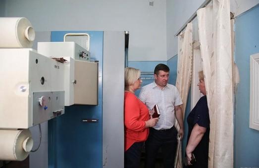 В Люботинской больнице продолжается ремонт - ХОГА
