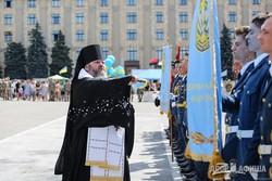На площади Свободы состоялся торжественный выпуск офицеров (ФОТО)