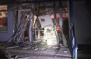 В Харькове ночью взорвали банкомат (ФОТО, ВИДЕО)