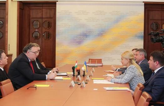Юлия Светличная и посол Венгрии Иштван Ийдярто договорились о расширении сотрудничества в промышленности и ІТ