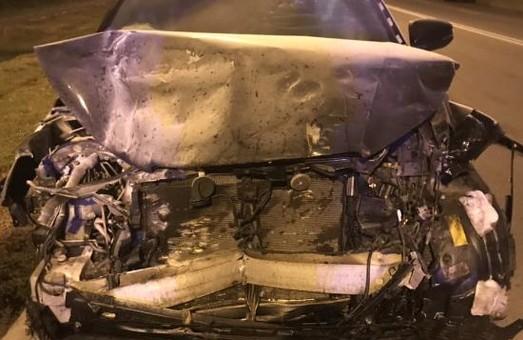 В Харькове пьяный водитель спровоцировал ДТП: пострадали четыре человека, в том числе двое детей (ФОТО)